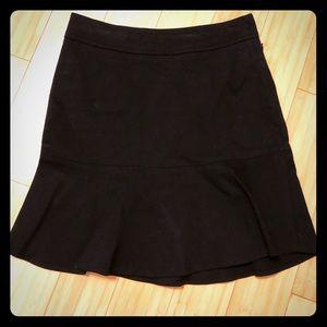 Gap flare skirt